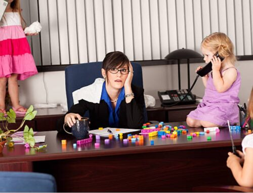 5-Year-Old Adults At The Office